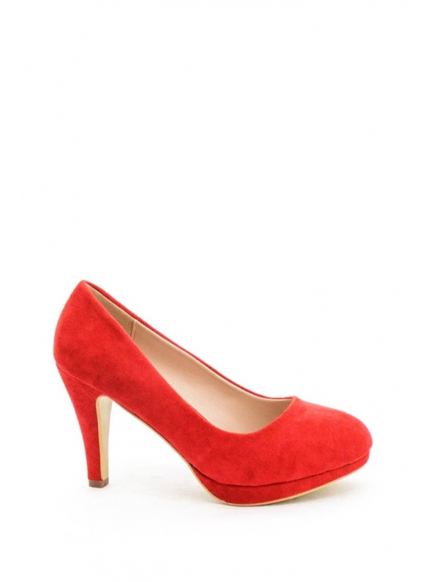 Helsi Stiletter - Rød