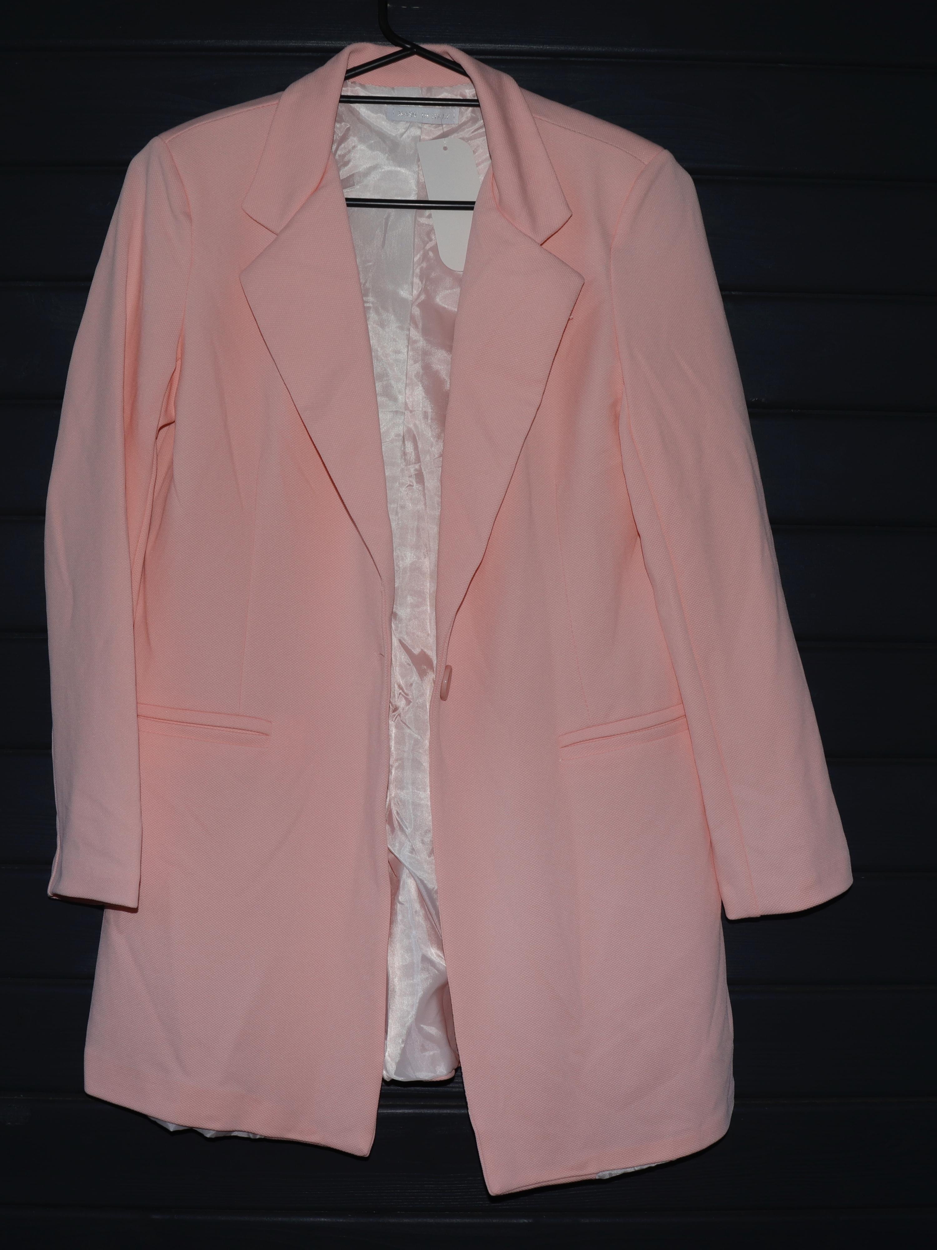 c206a46b Loggie Blazer - Lyserød - Jakker & Cardigans - Clothing By Ros