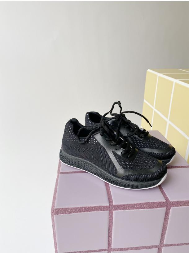 Hood Sneakers - Sort
