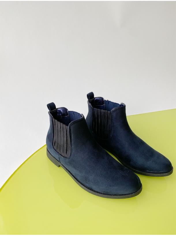 Annu Ankelstøvler - Marineblå